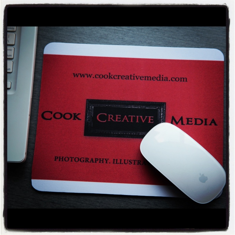Cook Creative Media, Mouse Pad, Melbourne, AU