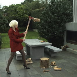 Red Ridinghood Chopping Wood, Lydia Turner, Cook Creative Media, (c), 410px